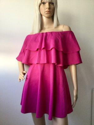 Robe de cocktail violet