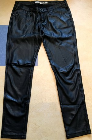 Take Two Leather Trousers black leather