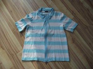 Damen Shirt, gestreift türkis-weiß, Gerry Weber, (42-BHB)