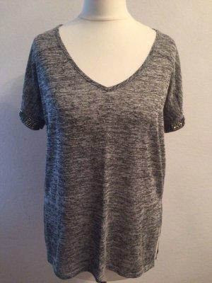 Damen shirt gr.34  in grau