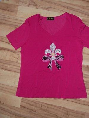 Damen Shirt, Gr.44, Pompöös, pink, (39-BHB)