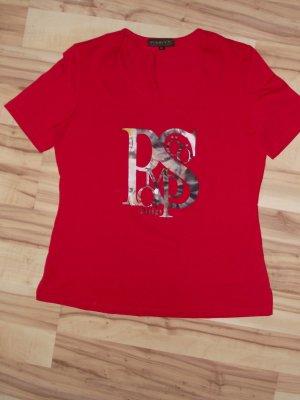 Damen Shirt, Gr.44, Rot, Pompöös, (41-BHB)