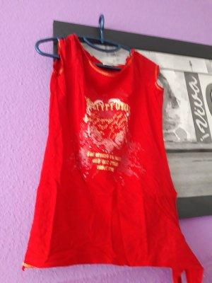 Long Shirt neon red