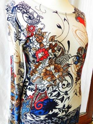 Damen Shirt in starkem Farben Print - Gr.40