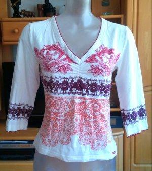 Damen Shirt Jersey gemustert Gr.S in Bunt von s.Oliver