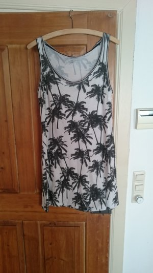 Shirt Dress white-black