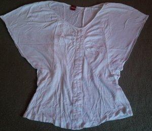 Damen Shirt Leinen Bluse Oberteil lagenlook leicht,luftig v. Olsen Gr.34 in Weiß