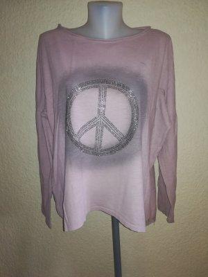 Damen Shirt mit Peace zeichen Gr.L