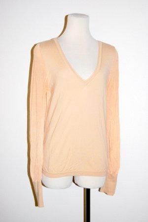 Damen - Shirt - mit transparenten Ärmeln von Wolford - Gr. M