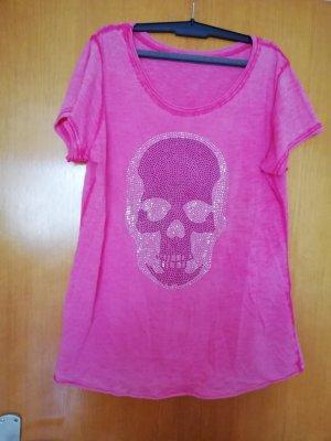Damen Shirt one size Totenkopf