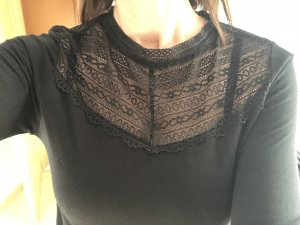 Street One Gehaakt shirt zwart
