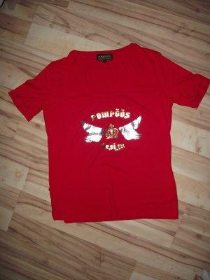 Damen Shirt, Rot, Pompöös, Gr.44, (40-BHB)