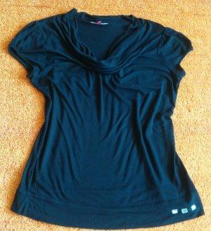 Damen Shirt Shirt Glitzer verzehrt Gr.M in Schwarz von Wissmach