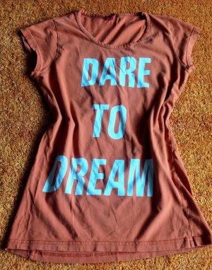 Damen Shirt Sommer leicht Gr.S(M) in Ziegel von Vero Moda
