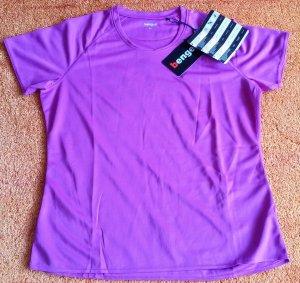 Sportshirt roze-wit Polyester