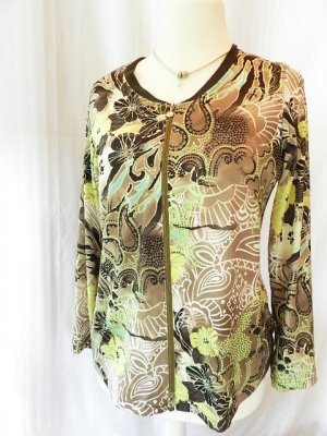 Damen Shirtjacke mit Printmuster - Gr.40
