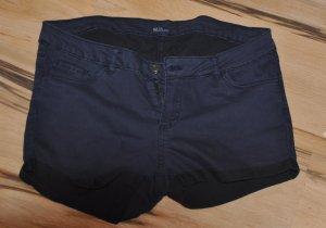 Shorts azul oscuro Algodón