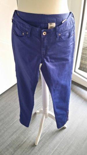 Damen Skinny Jeans in Königsblau von H&M Größe 27