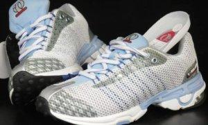 Pearl izumi Sneaker con strappi argento