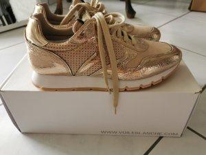 Damen Sneaker Voile Blanche Gold, 38, Neu