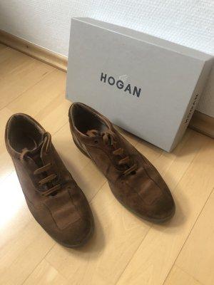 Damen Sneaker Von Hogan, Größe 39, Cognac Farben