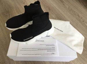 Balenciaga High Top Sneaker black-white