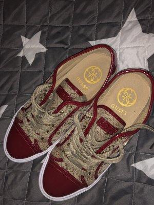 Guess Sneaker con tacco cognac-color cammello