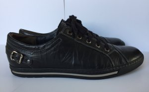Paul Green Lace-Up Sneaker black-white leather
