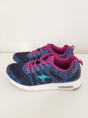 Damen Sneakers  KangaROOS Sneakers blau-pink kombi