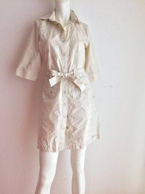 Damen Sommer kleid Businesskleid Freizeitkleid Von Street One Gr. 34 Beige