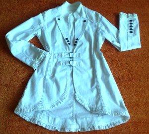 Damen Sommer Mantel Longblazer Gr.S/M in Weiß
