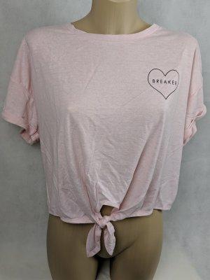 New Look Camisa rosa claro