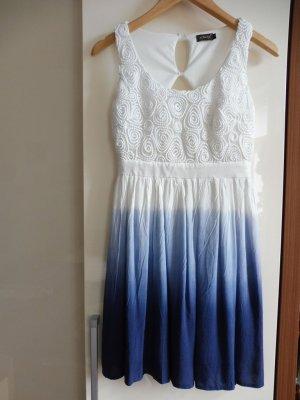 Damen Sommerkleid ärmellos Kleid damen kurz Rock Mini Kleider
