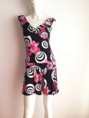 Damen Sommerkleid Freizeitkleid Strand Kleid Von Melrose Gr. 36 Geblümt Neu!
