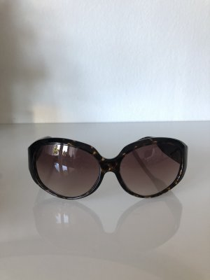 Michael Kors Oval Sunglasses dark brown-brown