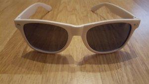 Damen Sonnenbrille weiss mit Samsung Aufdruck