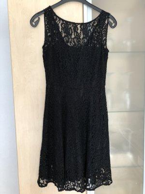 Damen Spitzen Kleid Gr 36 S Schwarz OVS Neu sexy