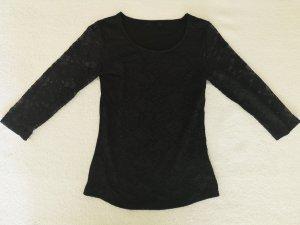Damen Spitzen Shirt Gr. M