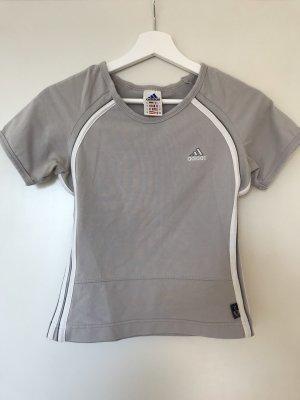 Damen Sport T-Shirt Gr. 36 Adidas grau