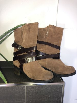 Short Boots brown-black brown