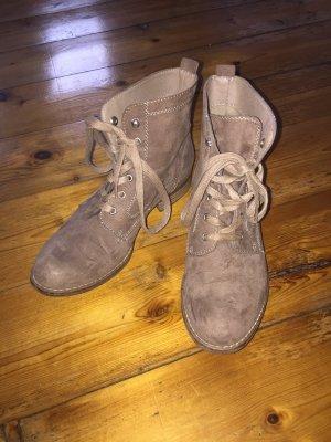 Graceland Halfhoge laarzen lichtbruin