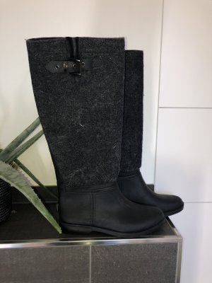 Botas de agua gris antracita-gris oscuro