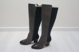 Tamaris Winter Boots anthracite mixture fibre