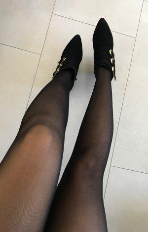 Heine Zipper Booties black