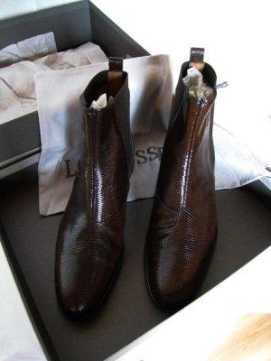 """Damen Stiefeletten Chelsea Boots von Lottusse Gr. 38,5 """" Neu"""""""
