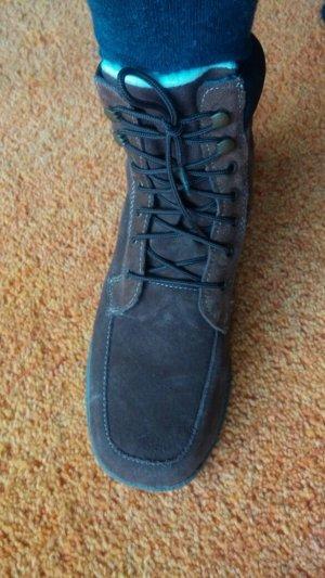 Damen Stiefeletten Wild Leder Wunderschöne Winter Boots Gr.38 in Braun TOP