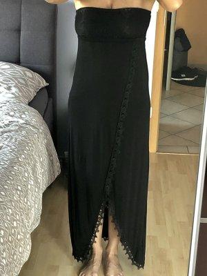 Damen Strand Kleid Maxikleid Buffalo London Gr 36 S Schwarz Neu