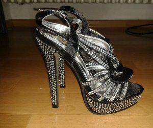 damen strass high heels gr.36