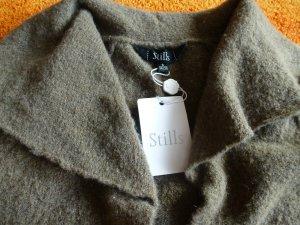 Stills Bolero lavorato a maglia marrone-grigio-ocra