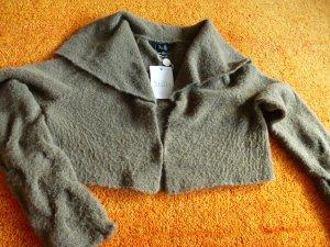 Damen Strick Jacke kuschelig warme Bolero von STILLS Gr.S in Taupe? Preis 99,95€